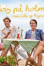 Ylvis på holmen med Calle og Magnus
