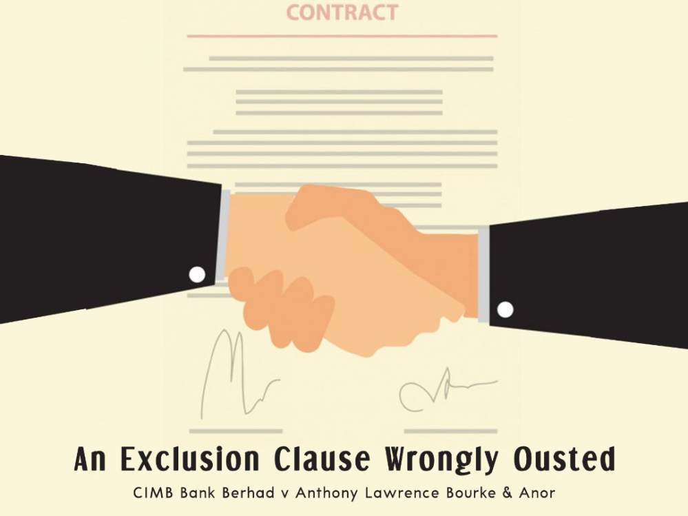 medium resolution of what does not seem to have been decided in all the established common law jurisdictions is that an exclusion clause would be considered as an ouster of the