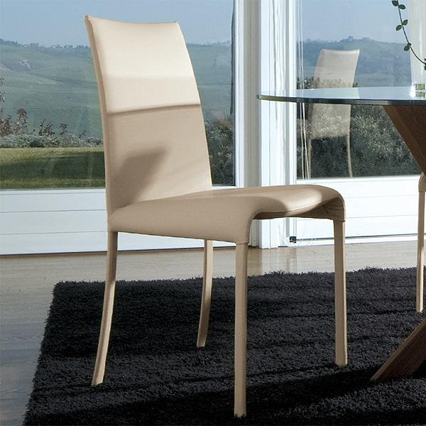 antonello italia vanity leather chair