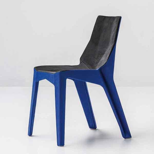 Bonaldo Poly XO Chairs  Leather  Fabric  Dining Room