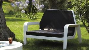 Slide America Plastic Lounge Chair Outdoor Patio