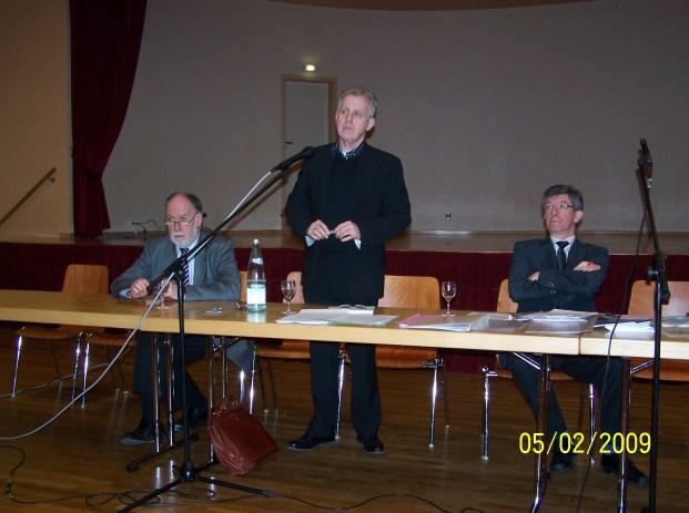 Reunion publique sur l'Education, du 5 février 2009 à Drulingen
