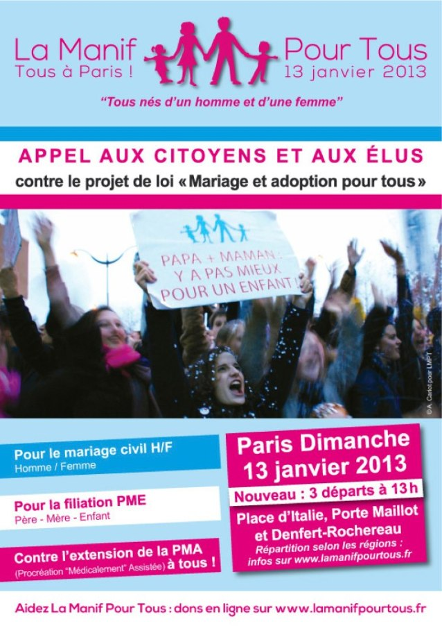 Tract manif 13 janvier 2013