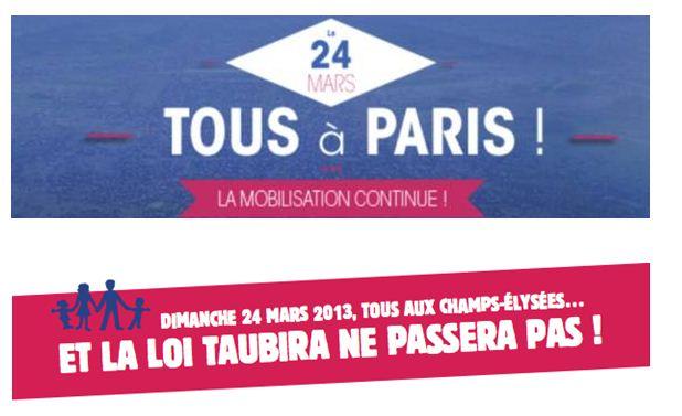 Manif pour tous 24 mars 2013