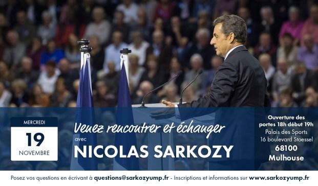 Meeting Nicolas SARKOZY MULHOUSE