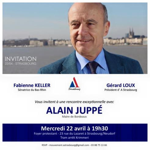 Alain JUPPE Strasbourg 22-04-15