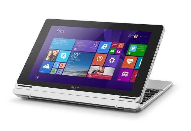 Acer updates Aspire Switch 10 range for 2015.