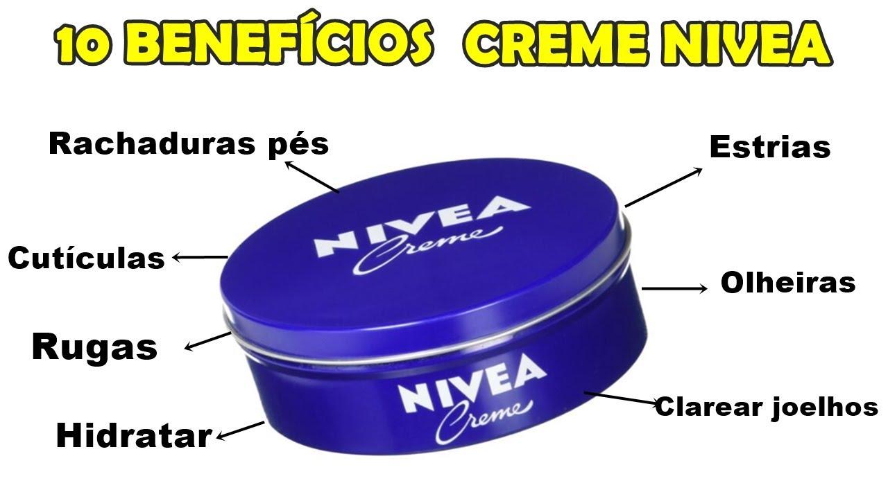 Você ja ouviu falar que o creme nívea é bom? Conheça vários truques e formas para usar esse creme e aproveitar o maximo