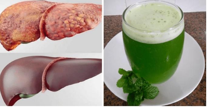 Regenere seu fígado com suco de hortelã