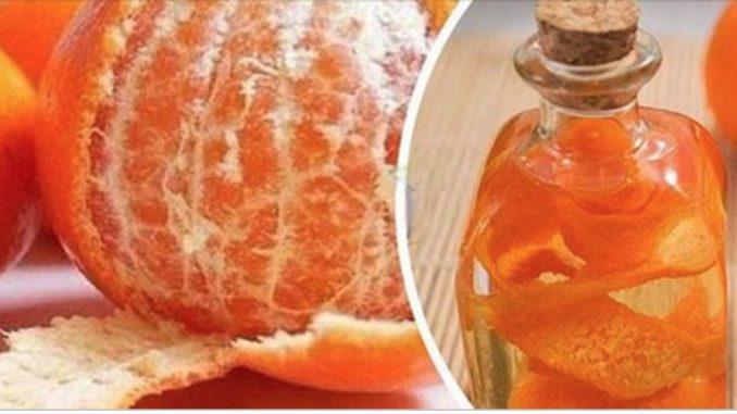 Livre-se de enxaqueca e labirintite com este remédio feito com casca de laranja!