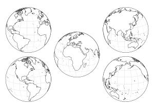 34 Weltkugel Europa Zum Ausmalen - Besten Bilder von