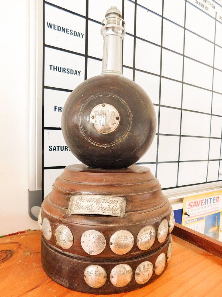 Coronation Bowls Trophy