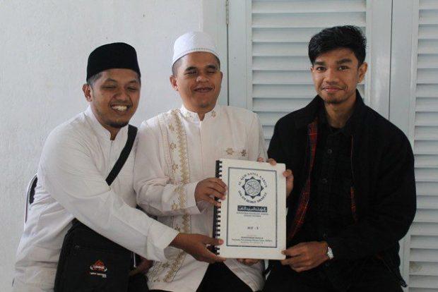 ketua umum lsm UMV dan muzamil