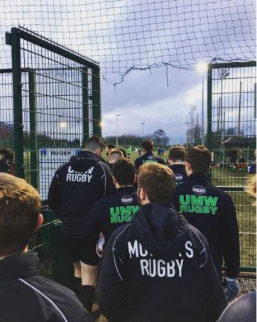 UMW Men's Rugby Ireland Tour by UMW junior Nathan Neri