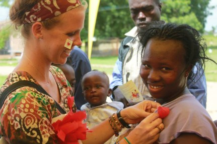 Taylor Parker '11 served as a Peace Corps volunteer in Ghana. She's among the 270 Mary Washington graduates who have served in the Peace Corps since its 1961 inception.