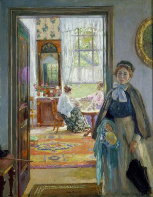 Gari Melchers, The Open Door, ca. 1910 Oil on canvas