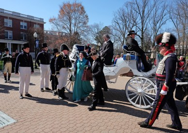 Presidential Inauguration of James, Monroe at UMW, Saturday, March 4, 2017. Photo by Norm Shafer.