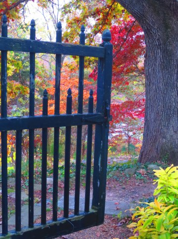 "Penny Parrish's ""Belmont Gate"" won second prize."