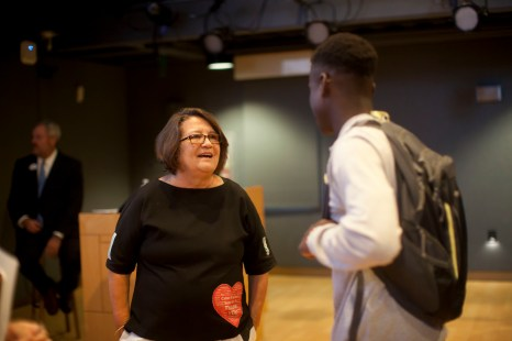 Roberta MacDonald shares her expertise with students as UMW's Executive-in-Residence.
