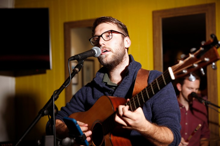 Guitarist and UMW alumnus Will McCarry plays guitar in the folk-rock band Wylder.