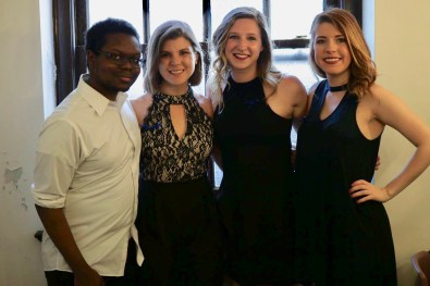 Vocal soloists Lucy Rose Bartges, Allison Jakubeck, Karen Smith and Joe Cheek are featured on Give Love.
