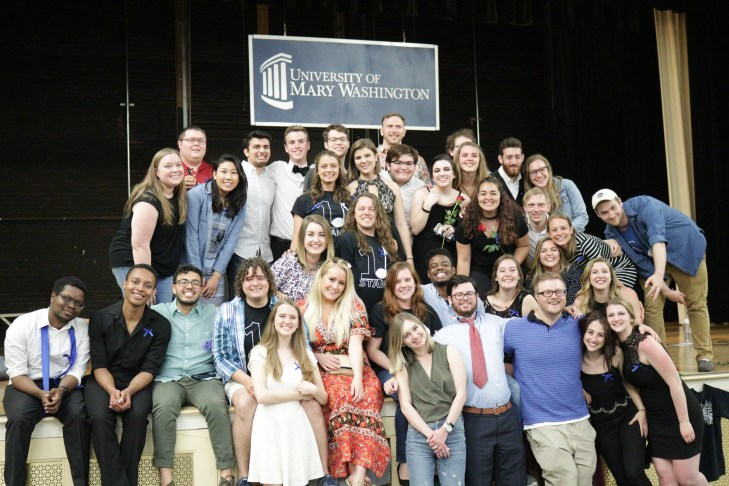 One Note Stand's 10-year anniversary celebration included an alumni concert, featuring 30 UMW alumni.