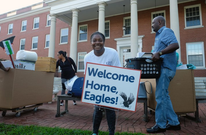 The class of 2022 came home the University of Mary Washington during Move-In Day this week.