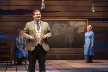Mitch Coomer '20 plays the role of Bill in The Amish Project by Jessica Dickey. (Geoff Greene)