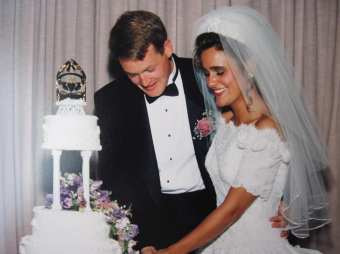 Shannon Eadie Niemeyer '91 and Frank Niemeyer '91 met at Mary Washington and celebrated their 25th wedding anniversary last summer. They met at the Junior Ring Dance.