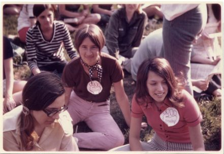 In 1970, Mary Washington students joined other college and high school students across the country in a massive protest against the Vietnam War. Photo courtesy of UMW Libraries' Special Collections and University Archives.