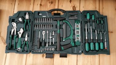 Werkzeugkasten - Möbelaufbau Bilder von unserer Arbeit in Berlin