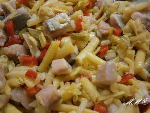 Bohnen - Matjes -Salat