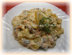 Kartoffel - Matjes Salat
