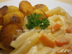 Bratkartoffeln - Kohlrabi