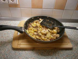 Leberwurstkartoffeln