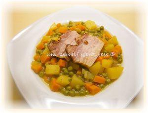 Erbsen – Möhren- Curry – Eintopf
