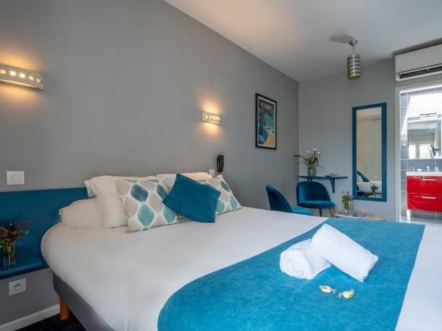 Vue d'ensemble de la chambre double confort - La Rochelle