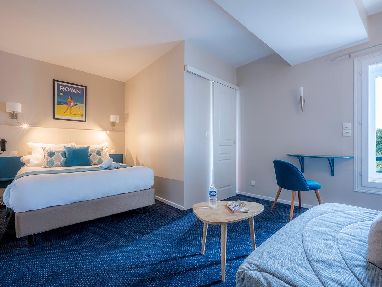 vue d'ensemble de la double triple privilège - Un hôtel sur le Port