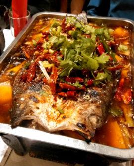 "Un plat chinois peu connu: le ""kaoyu""."