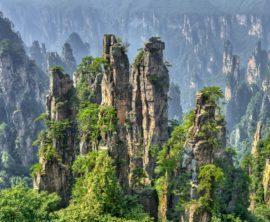 Zhangjiajie : le parc de Wulingyuan