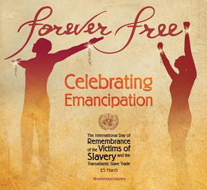 Poster created for the 2012 observance