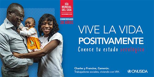 Tarjeta postal del Día Mundial del Sida 2018