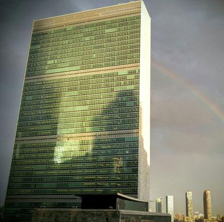 El edificio de la ONU en Nueva York