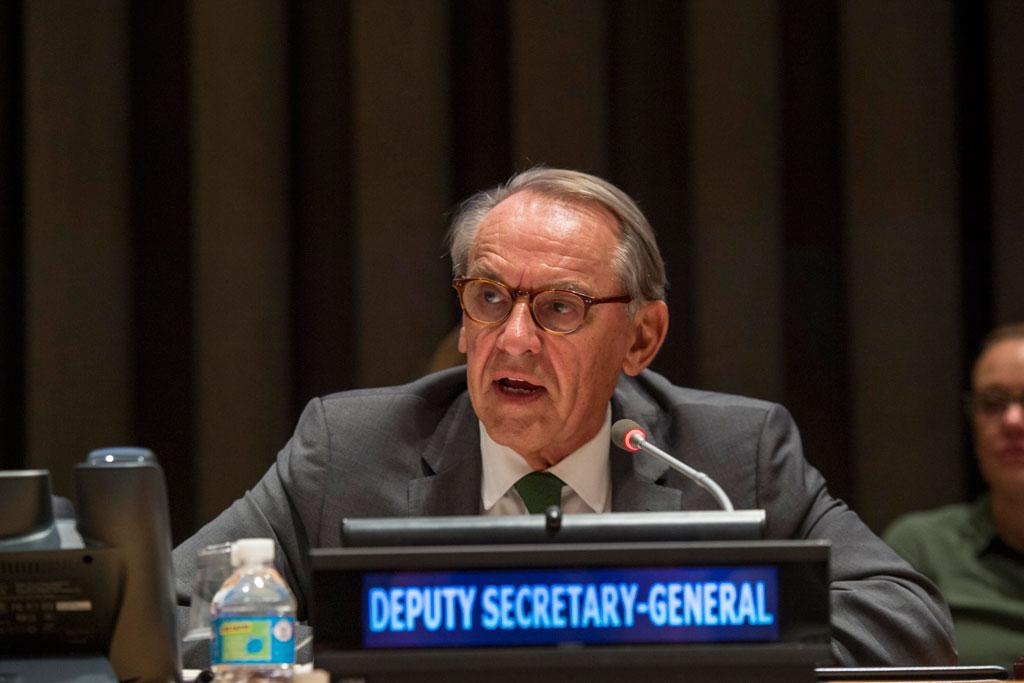 El vicesecretario general de la ONU, Jan Eliasson. Foto de archivo: ONU/Cia Pak