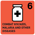 COMBAT HIV/AIDS, MALARIA AND OTHER DISEASES