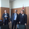 The SG stopped by President Lykketoft's office