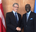 Meeting with the Special Adviser of the Secretary-General on the Prevention of Genocide, Mr. Adama Dieng