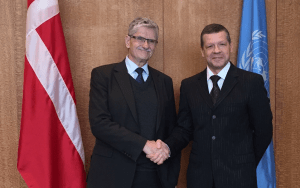 The UN GA President met the Deputy Foreign Minister of Belarus