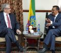 Mogens Lykketoft met the Foreign Minister of Ethiopia Dr Tedros Adhanom Ghebreyesus in Addis Ababa
