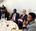 UNFPA lunch on adolescent girls